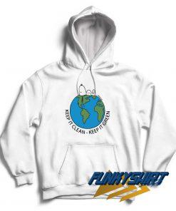 Snoopy Keep It Clean And Green Hoodie