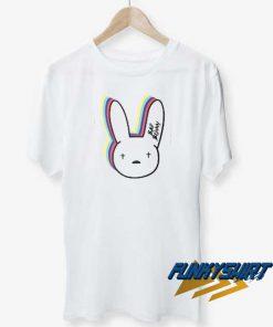 Bad Bunny Logo Colour t shirt