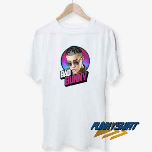 Bad Bunny Purple t shirt
