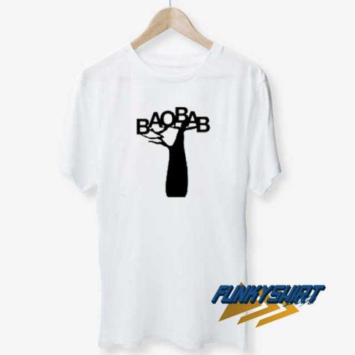 Baobab Black t shirt