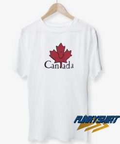 Canada Happy Maple Leaf t shirt