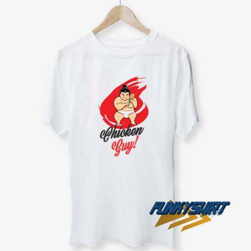 Chicken Guy Red t shirt