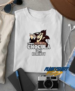 Count Chocula Is My Homeboy Cereal t shirt