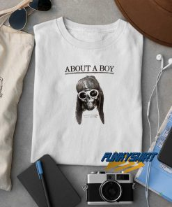 Kurt Cobain About A Boy t shirt