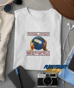 1991 Michael Jackson Heal The World t shirt