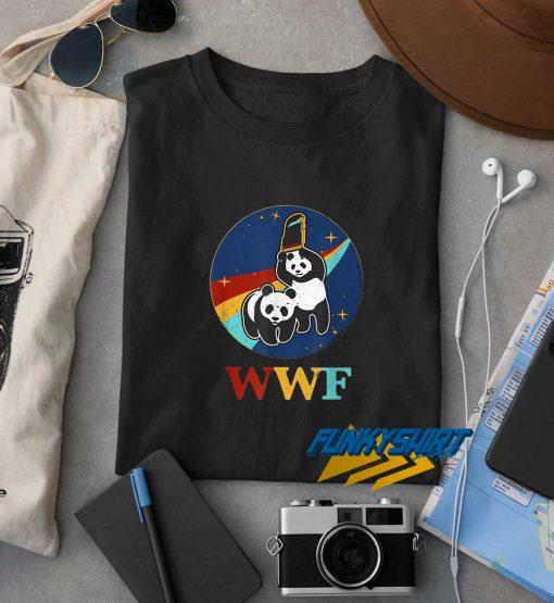 Awesome Panda Bears Wwf t shirt