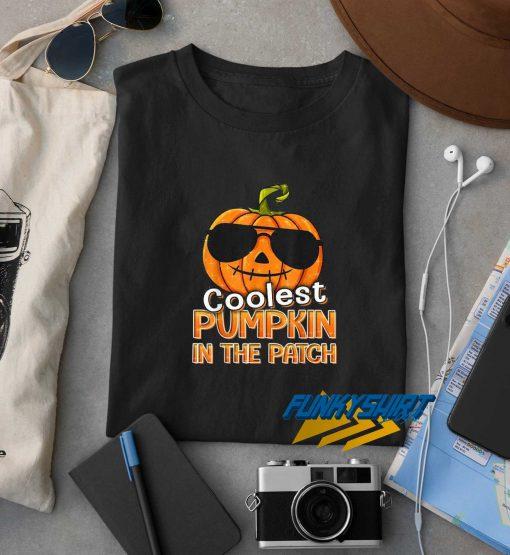 Coolest Pumpkin In The Patch Halloween t shirt