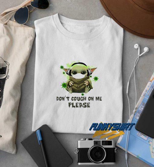 Corona Virus Ruined My Hockey Yoda t shirt