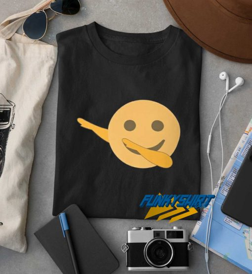Dab Emoji Emoticon Funny t shirt