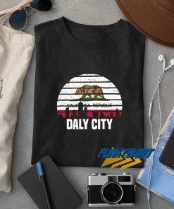 Daly City California Republic t shirt