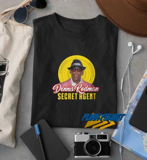 Dennis Rodman Secret Agent t shirt