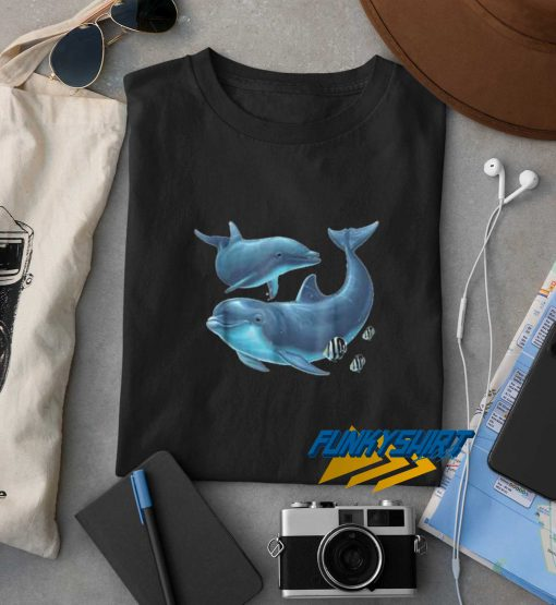 Dolphin Protect Our Oceans Art Tee t shirt