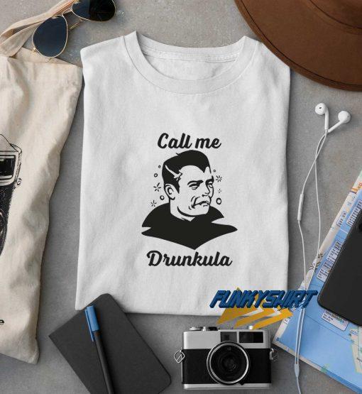 Drunkula t shirt