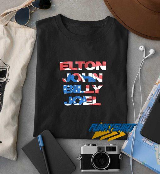 Elton John Billy Joel t shirt