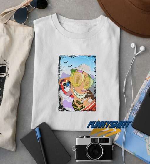 Fear And Loathing With Ren And Stimpy t shirt