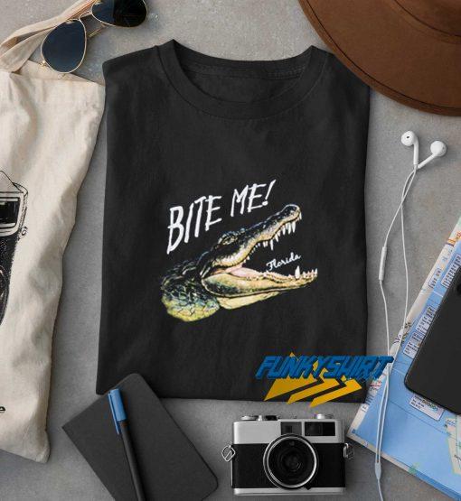 Florida Gator Bite Me Tourist t shirt