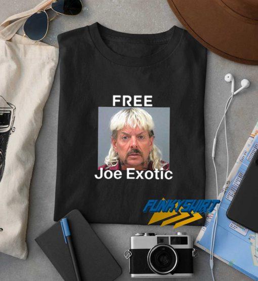 Free Joe Exotic Tiger King t shirt
