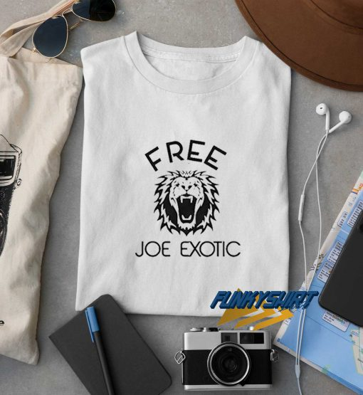 Free Joe Exotic Tiger King Tee t shirt