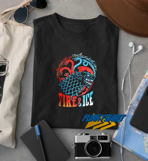 Game Of Thrones Fire And Ice t shirt