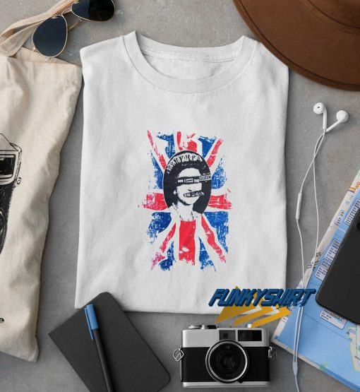 God Save The Queen Flag t shirt