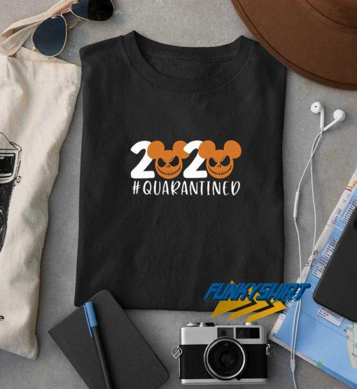 Halloween 2020 Jack Skellington Quarantined t shirt
