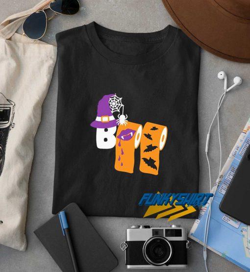 Halloween Boo Toilet Paper 2020 t shirt