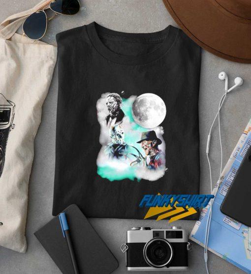 Halloween Horror Characters Moon Star t shirt