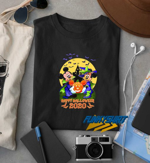 Halloween Mickey And Minnie Happy t shirt