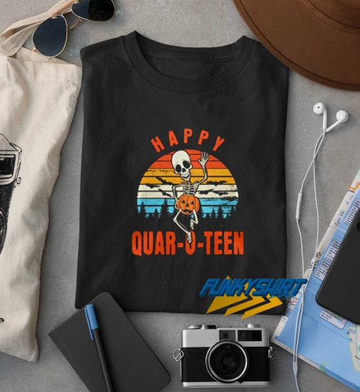 Happy Quar O Teen Helloween t shirt