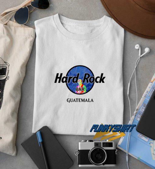 Hard Rock Bar Guatemala t shirt