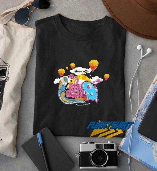 Hypptunes Rock The World Tour t shirt