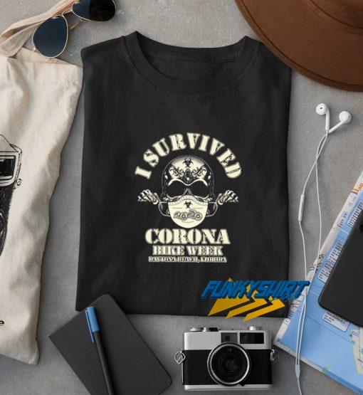 I Survived Corona Bike Week Daytona Beach Florida t shirt