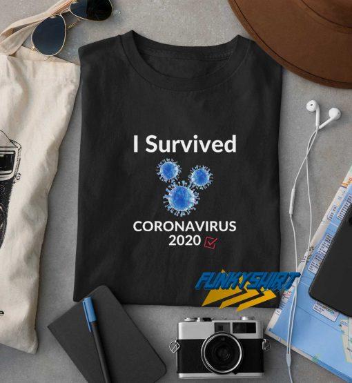 I Survived Coronavirus t shirt