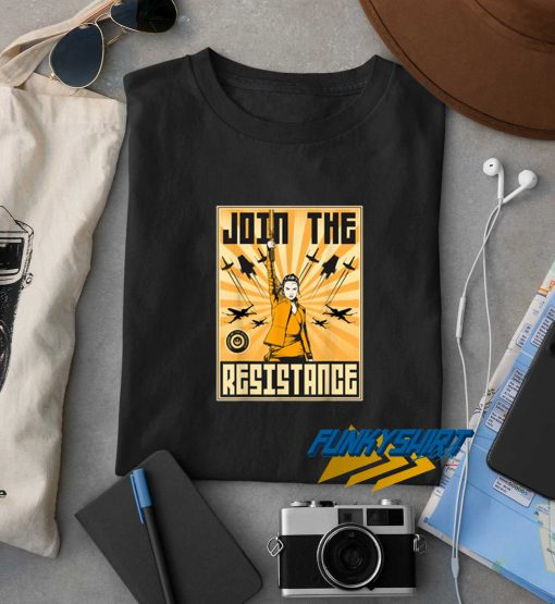 Join The Resistance t shirt