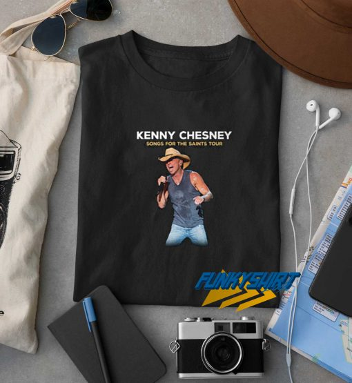 Kenny Chesney Songs For The Saints Tour t shirt