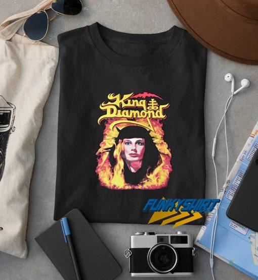 King Diamond X Flames X Lady t shirt