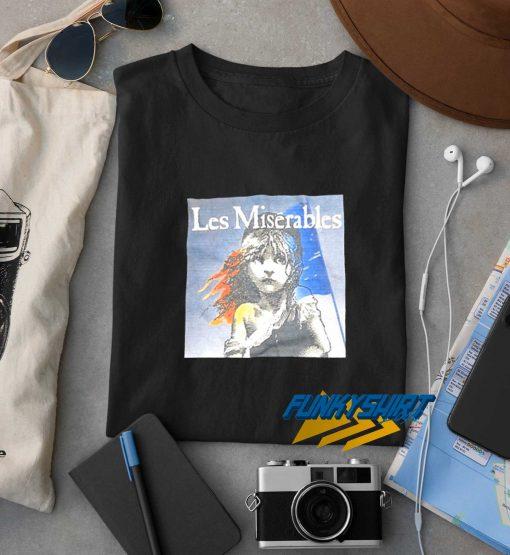 Les Miserables Black t shirt