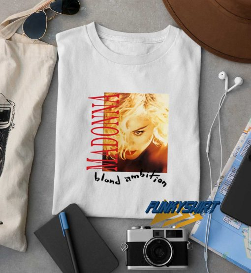 Madonna 1990 Blond Ambition Double Sided Tour t shirt