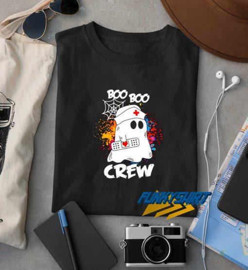 Nurse Boo Boo Crew Halloween t shirt