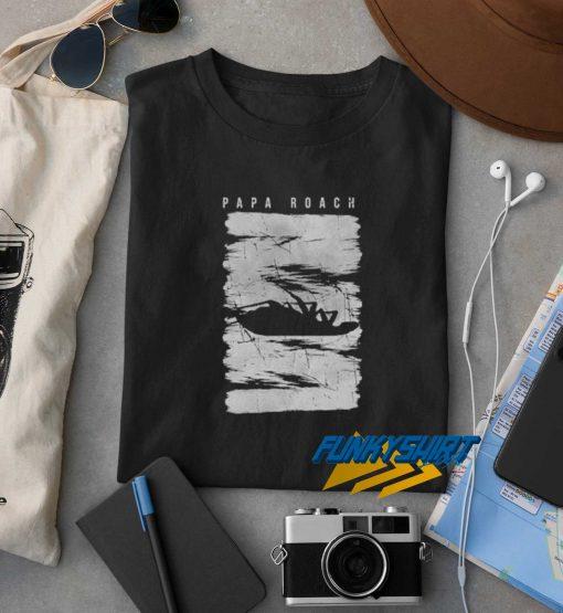 Papa Roach Distress t shirt