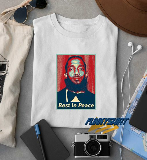Rest In Peace Nipsey Hussle t shirt