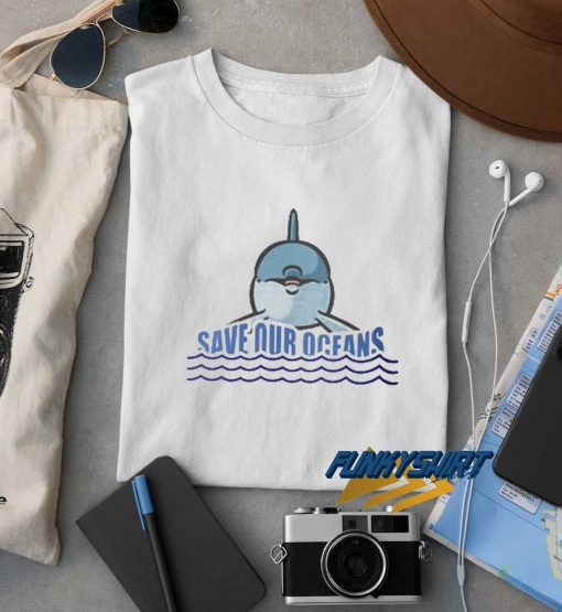 Save Our Oceans Dolphin t shirt