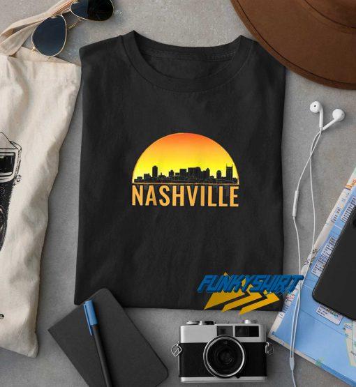 Skyline Of Nashville Tennessee t shirt