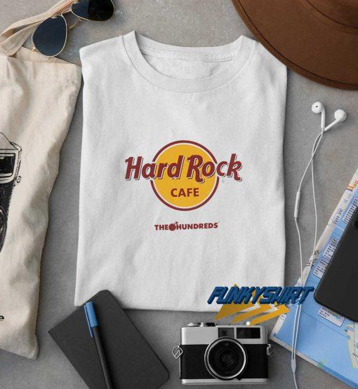 The Hundreds X Hard Rock Cafe t shirt