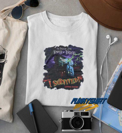 The Twilight Zone Tower Of Terror Tee t shirt