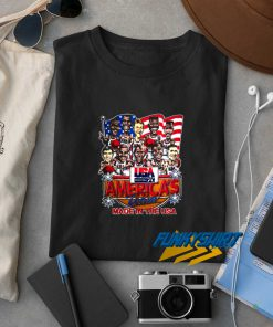 Usa Americas Team Made In The Usa t shirt