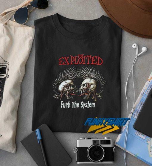 Vintage The Exploited Scottish Punk Band t shirt