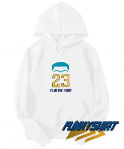 23 Fear The Brow Hoodie