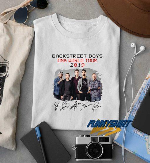 Backstreet Boys Dna World Tour 2019 t shirt