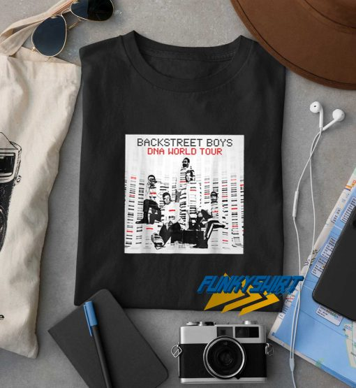 Backstreet Boys Dna World Tour t shirt
